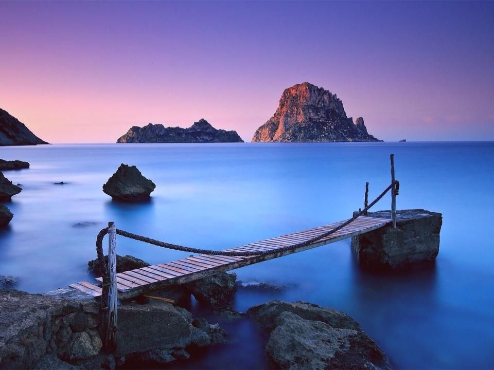 Es Vedra Ibiza Photography Bridge Wallpaper