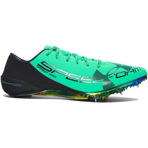 lluvia Cada semana Dispersión  Under Armour Men's SpeedForm Sprint Pro Track Shoes (Vapor Green, Size 9.5)  - Track And Field Shoes at Academy Sports | Track, field shoes, Spikes  track, Track, field