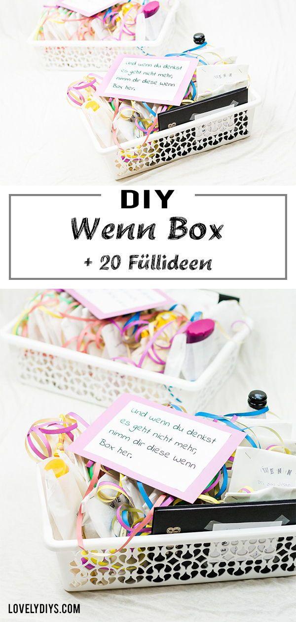 Photo of DIY Wenn Box basteln – schöne Geschenkidee für jeden Anlass