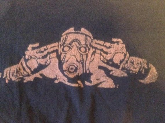 Borderlands 2 Bleached Shirt Psycho by Achromatees on Etsy