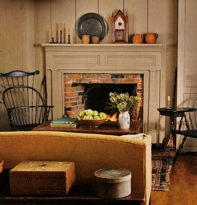 18 Easy Budget Decorating Ideas That Won T Break The Bank: Colonial Home Decor, Primitive