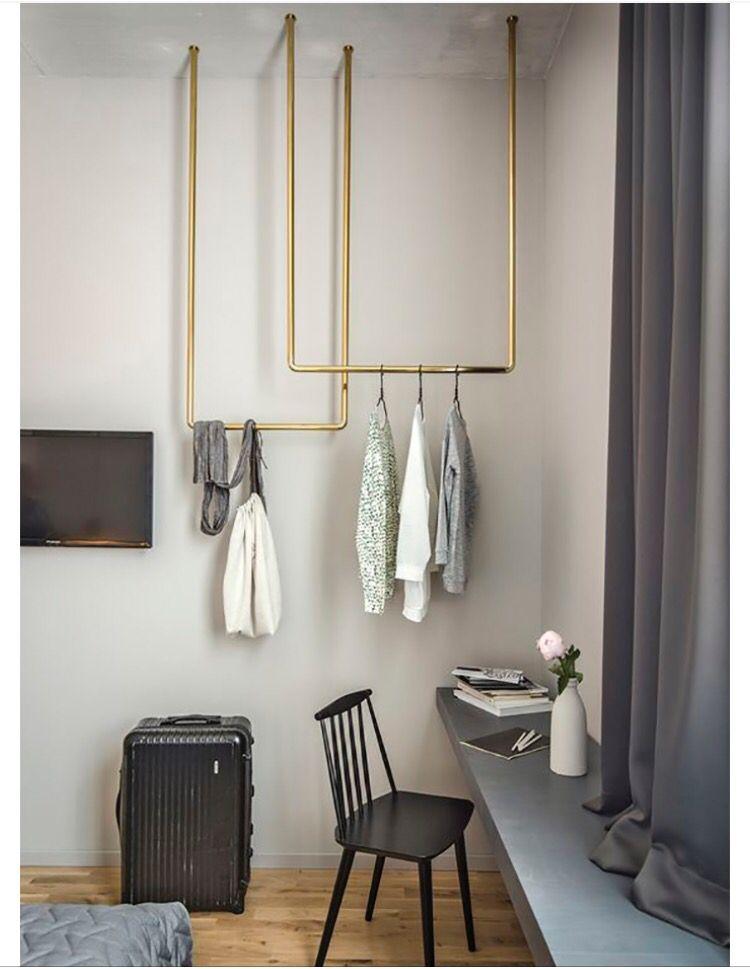 DIY klädhängare Home decor Pinterest Sovrum, Inredning och För hemmet