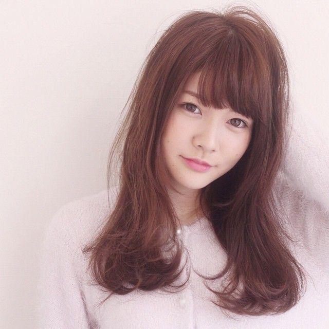 ピンクブラウン\u201dのヘアカラーに夢中になってみる♡」に含まれるinstagramの画像|MERY [メリー]
