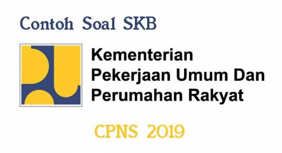Latihan Contoh Soal Skb Kementerian Pupr Cpns 2019 Belajar Pengikut Latihan