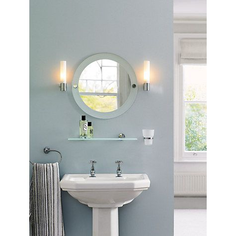 Bathroom Light Fixtures John Lewis astro bari bathroom wall light | bathroom wall lights, lighting
