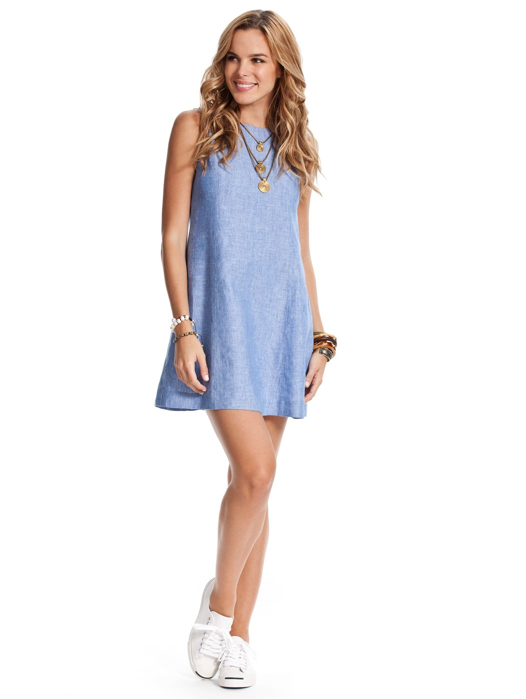 aadd4cc16d Our Caribe Sugar Shift Dress is a cute blue linen dress perfect for a  summer dress! This blue linen dress is perfect resort wear for women on any  island ...