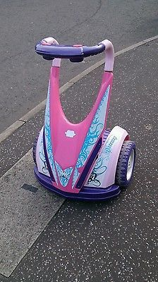 Dareway 12v Electric Ride On, Childs Version Of Segway In Pink And Purple