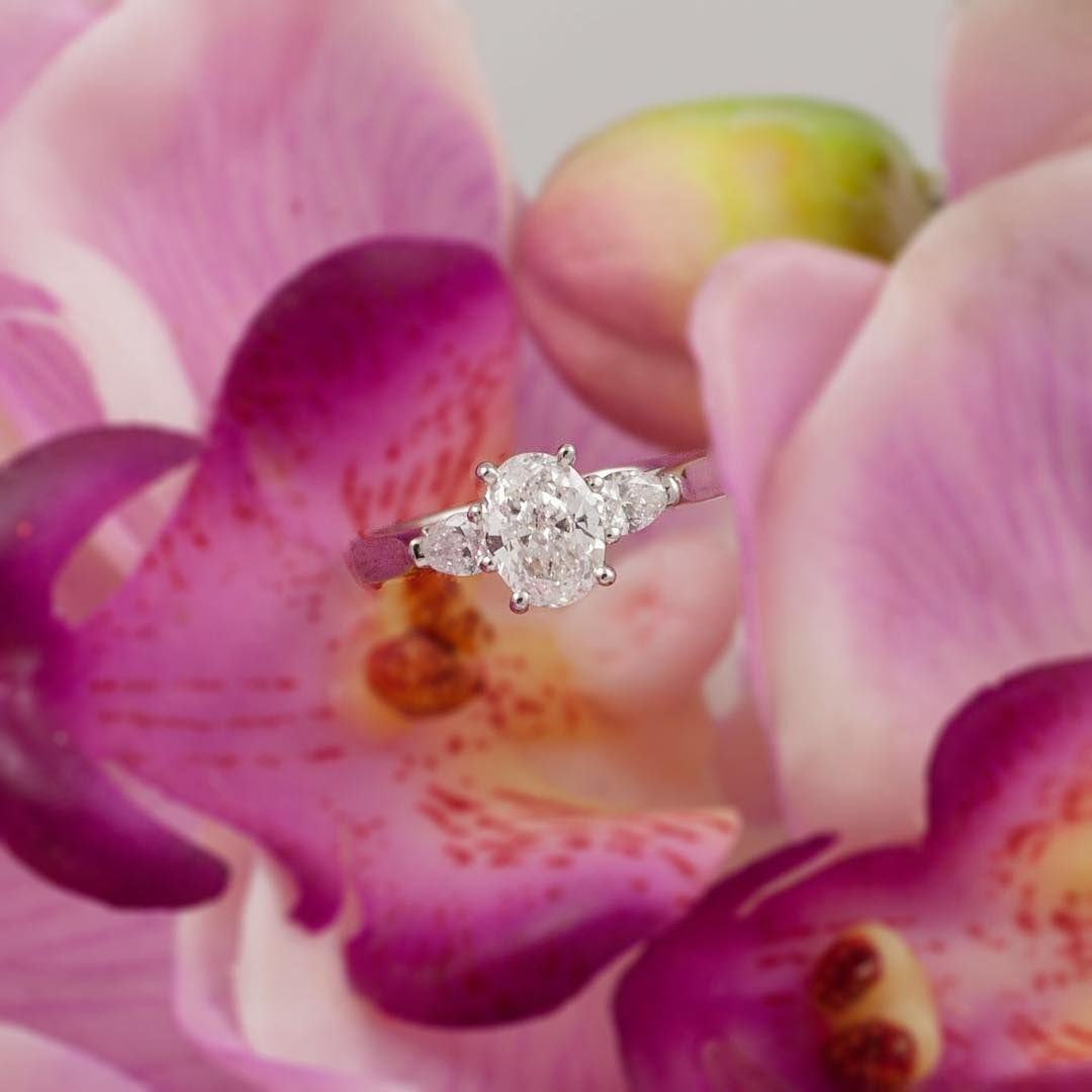 This Unique And Stylish Engagement Ring Has Just Been Crafted In Our ...