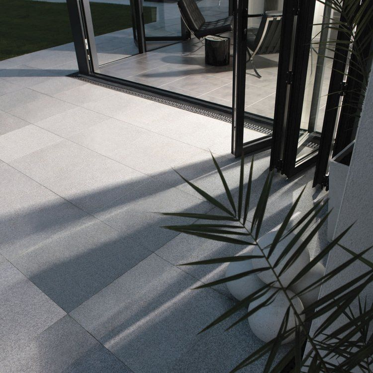 Dalles De Terrasse En Pierre Naturelle- Revêtement De Sol Intérieur Et  Extérieur Moderne