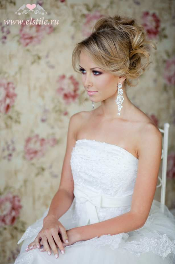 coiffure mariage blonde chignon. Black Bedroom Furniture Sets. Home Design Ideas