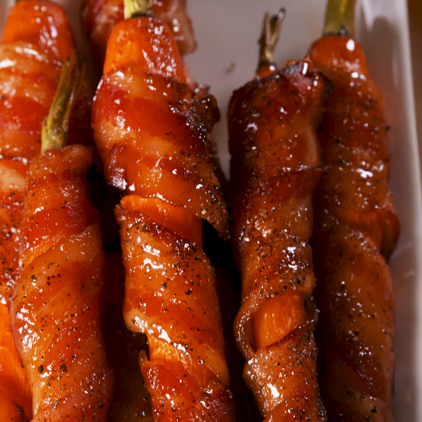 Maple Bacon Carrots: A Side That Will Steal The Sh