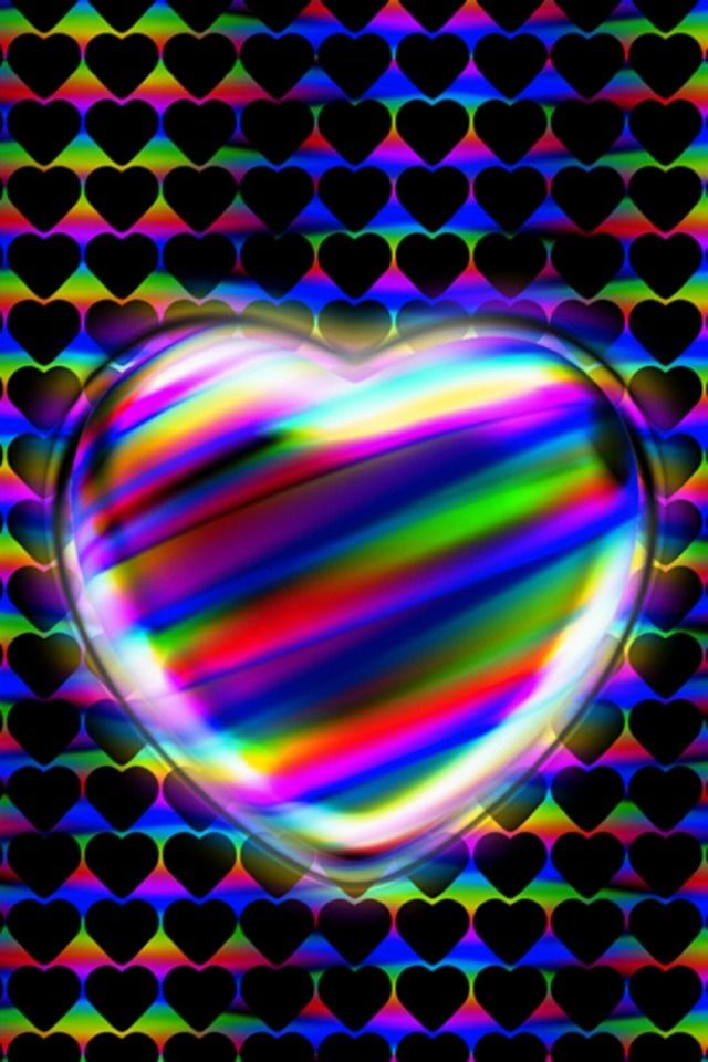 Colors Of The Heart Wallpaper Backgrounds For Smartphones