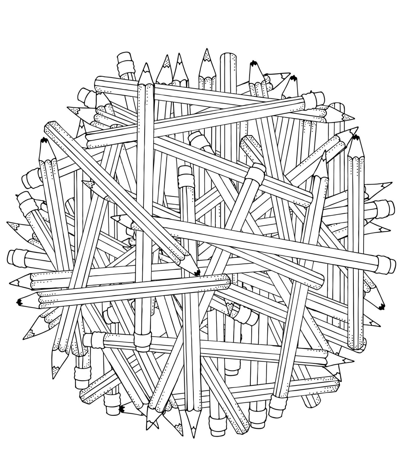 Coloring Page For Adults And Teens Mandala Coloring Pages Coloring Books Coloring Pages