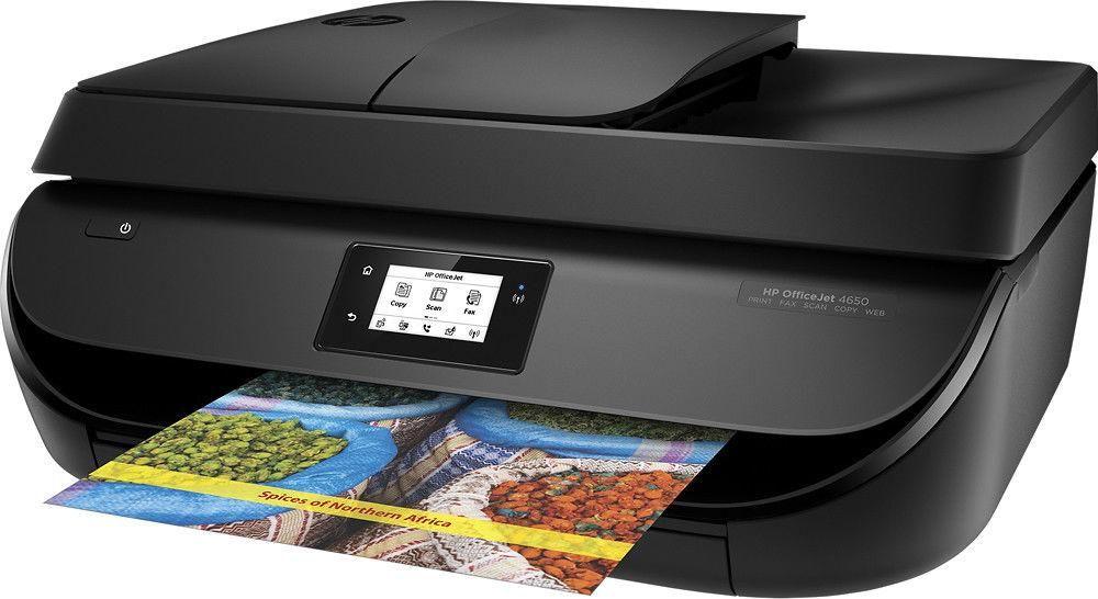 Hp officejet 4650 allinone color inkjet multifunction
