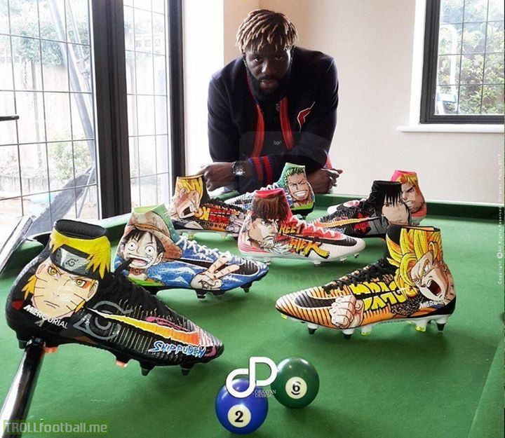 Bakary Sakos Anime Nike Mercurial Collection Is Ridiculously Cool
