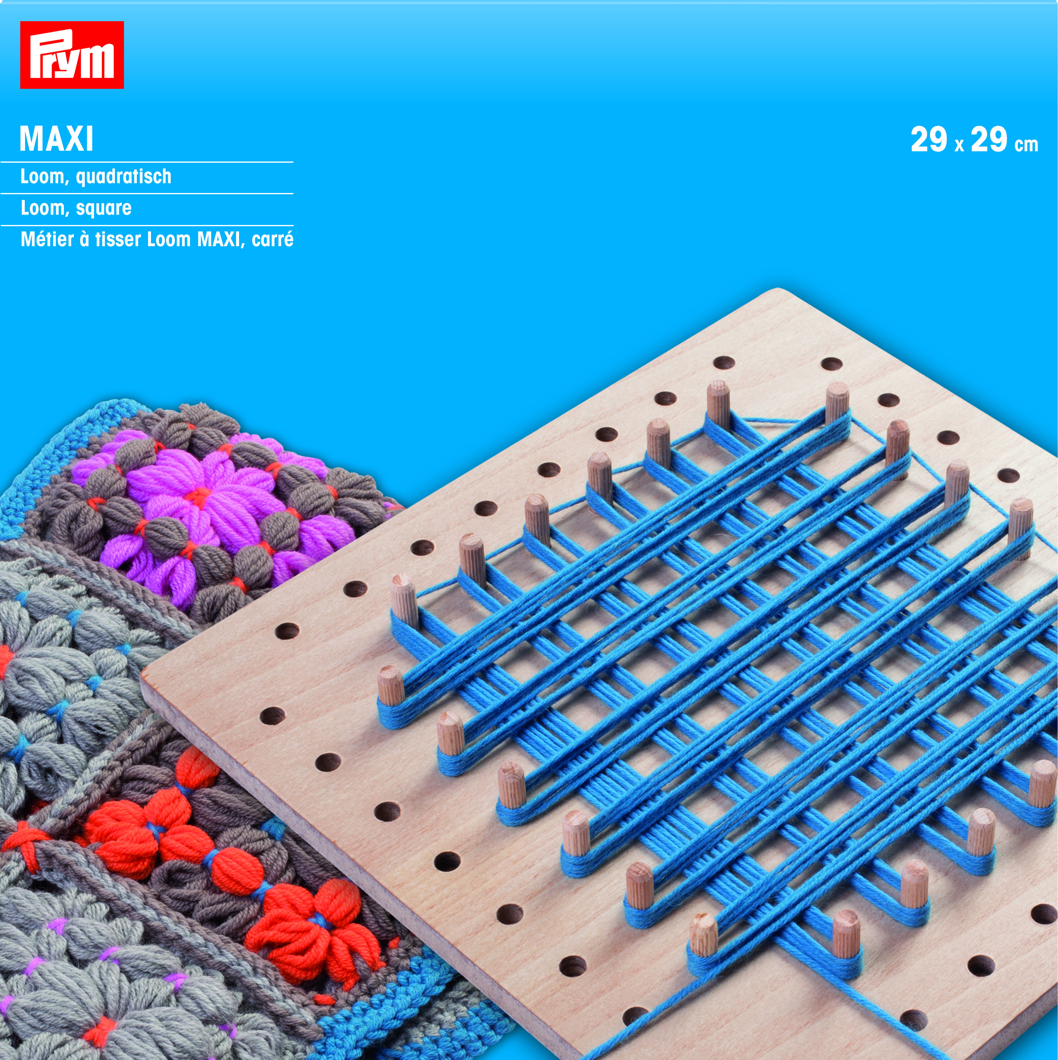 Loom - square, for more languages click here: http://www.prym ...