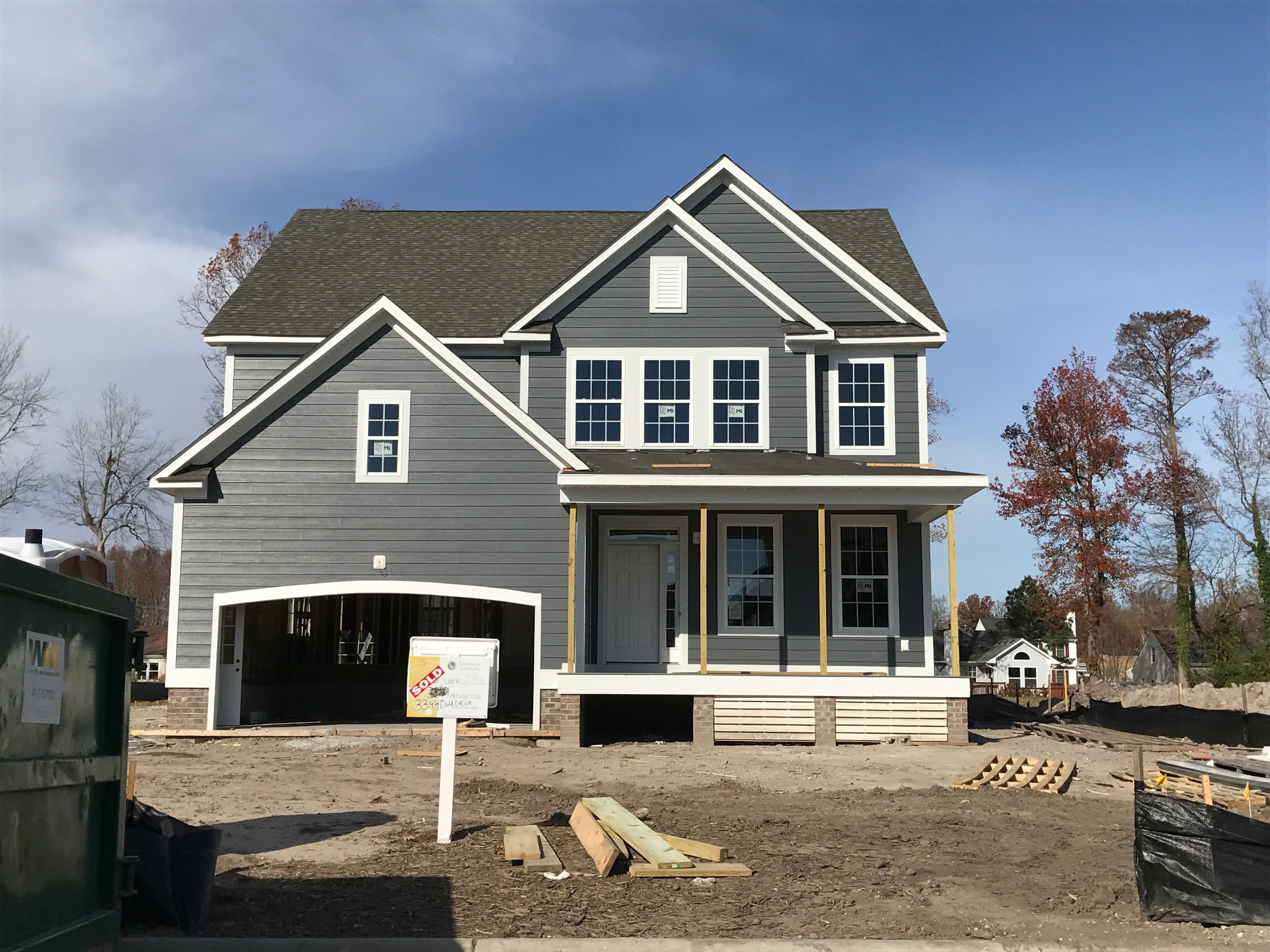 James Hardie Night Gray Siding Home Exterior In 2019