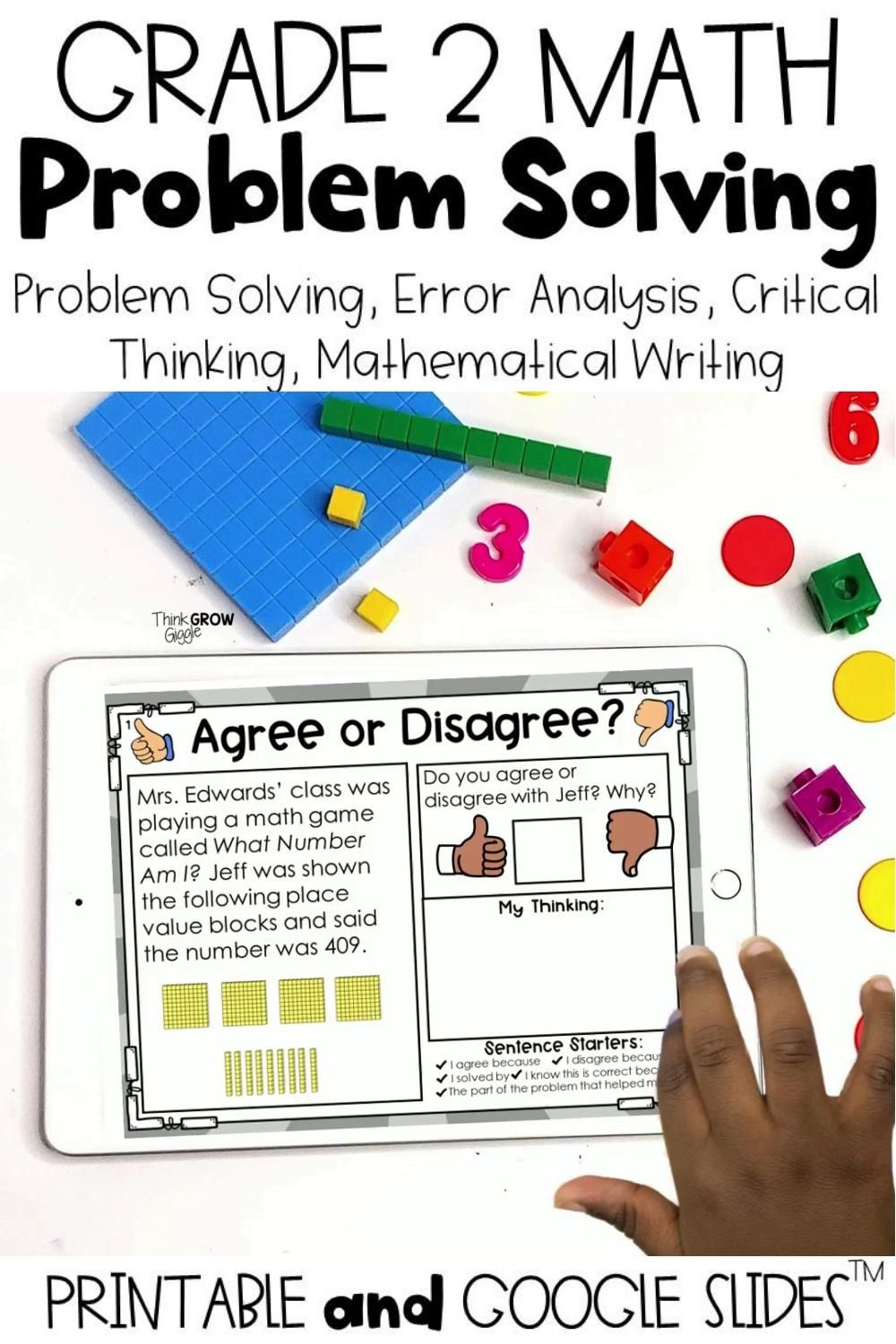 2nd Grade Math Activities And Word Problems Video Math Word Problems Math Activities Word Problems [ 1500 x 1000 Pixel ]