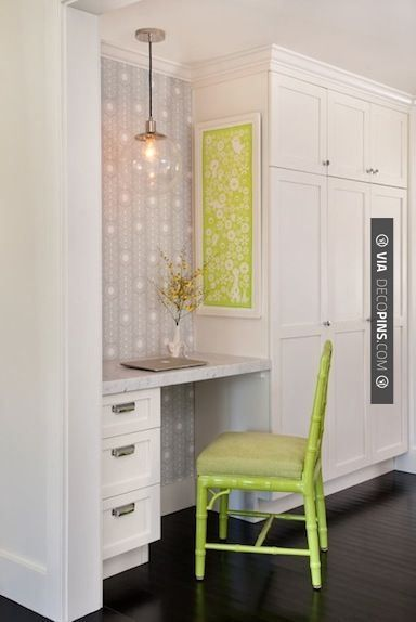 Like This  Sweet Kitchen Office Space With Wallpaper Marble Mesmerizing Small Office Kitchen Design Ideas Design Ideas