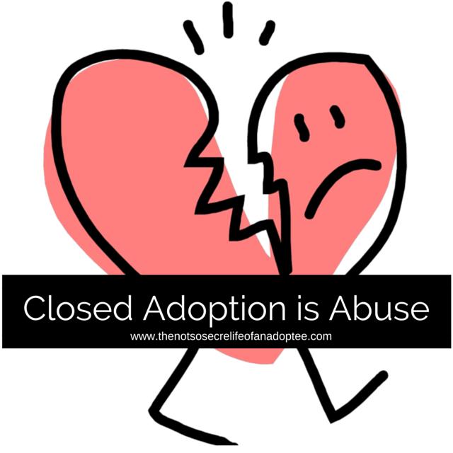 Closed Adoption is Trauma #adoption