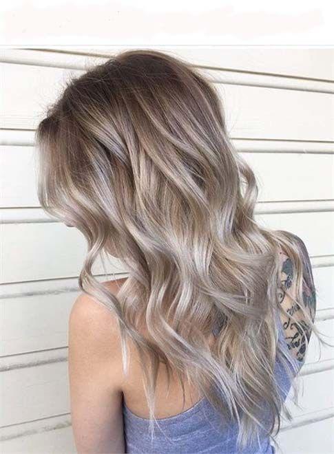 The Warm To Cool Blonde Hair Color Goruntuler Ile Sarisin Sac