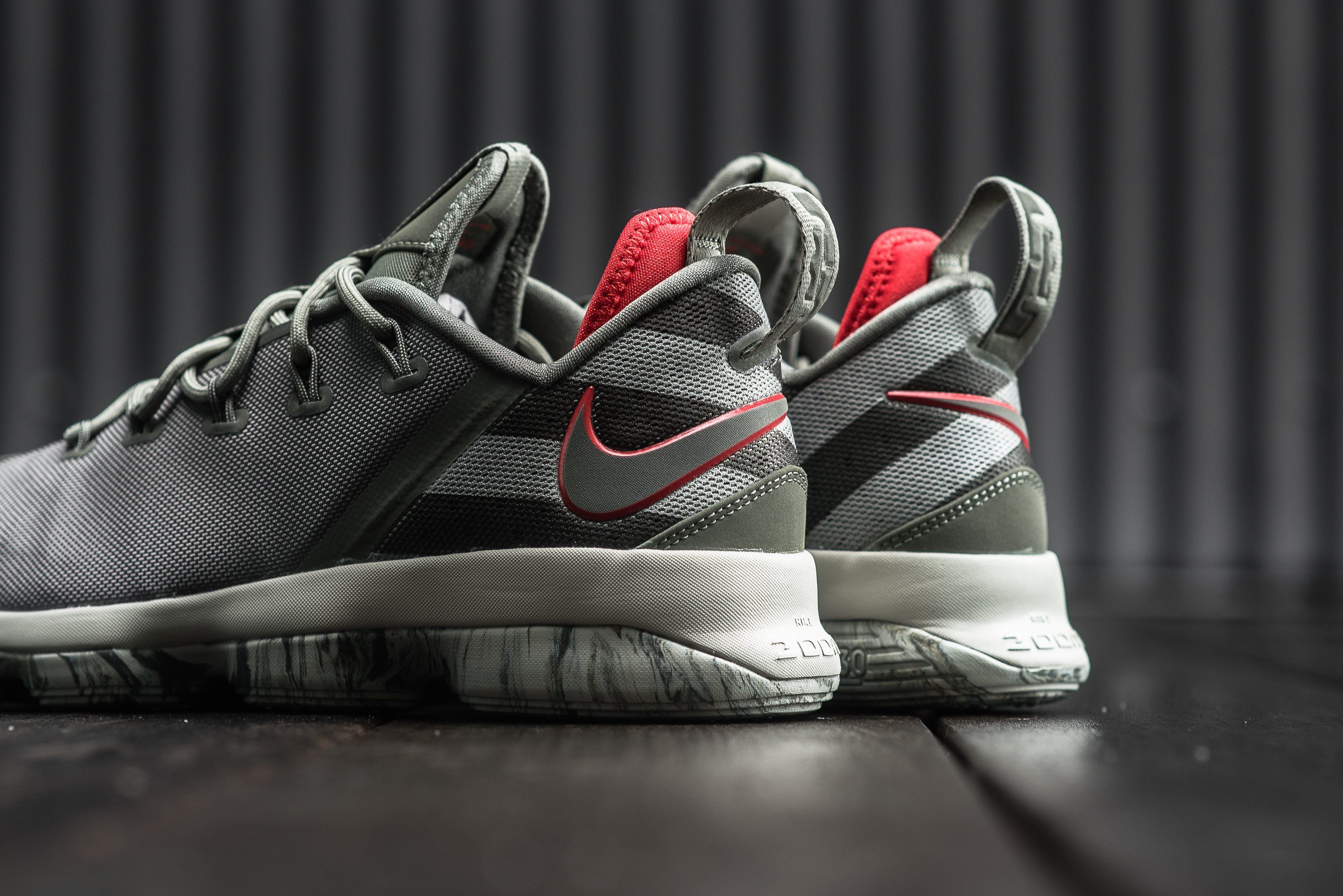2ef1dc59a65 A Detailed Look At The Nike LeBron 14 Low Dark Stucco