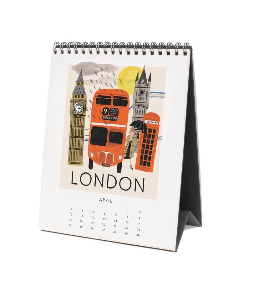 Buy Desktop Calendars  With Photos And Text Printed Online In