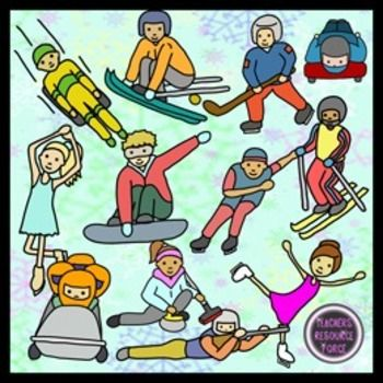 Winter Sports Competition clip art | Clip art, Olympics and Filing
