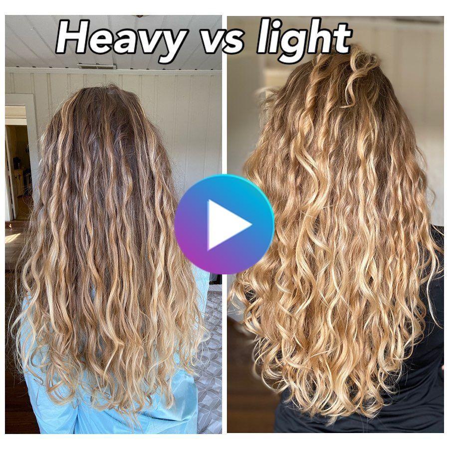 Mein Modified Curly Mädchen Methode für welliges Haar in 20 ...