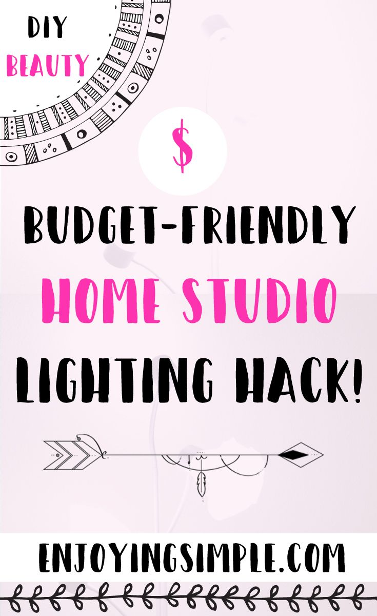 Feb 21 Budget Friendly Photography Lighting | Budgeting, Blogging ...
