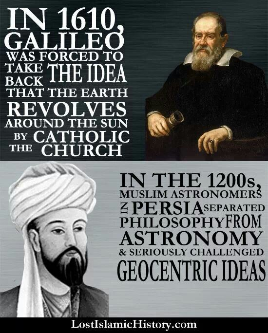 Historic European And Islamic Astronomy History Of Islam Islam And Science History Of Science