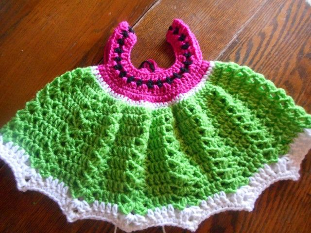 Free Link To Sweet Crocheted Baby Dress Free Crochet Patterns