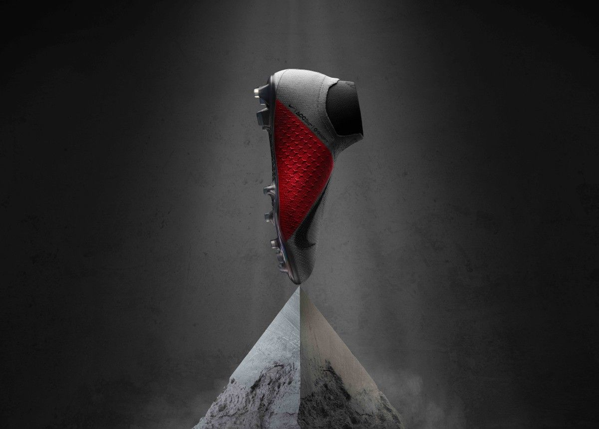 Nike S New Phantomvsm Debuts Their New Quadfit Shoe Construction Nike Cleats Soccer Cleats Nike