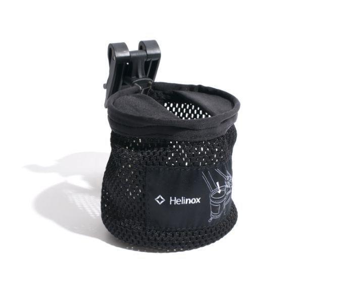 Helinox Cup Holder Black + Free 1EA Helinox Binding Tie