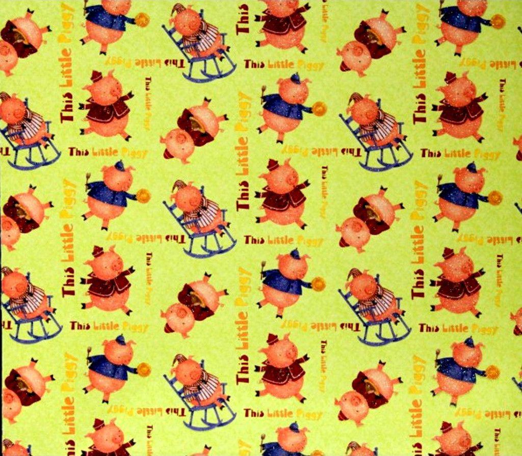 Scrapbook paper cardstock - Dcwv Heat Embossed This Little Piggy Cardstock Nursery Rhymes Scrapbook Paper Is Available At Scrapbookfare