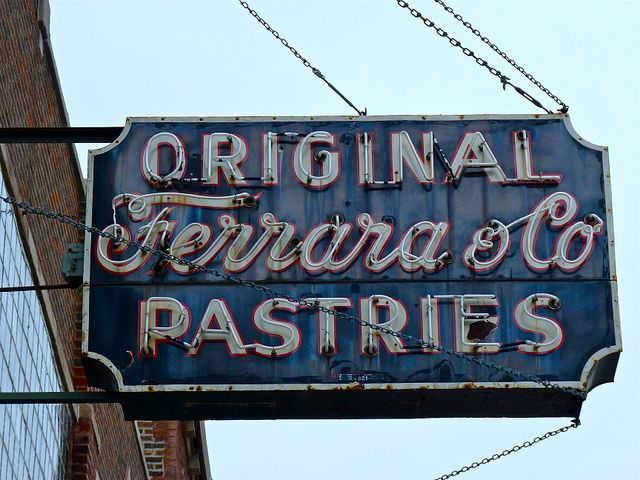 Original Ferrara Co Pastries Taylor Street Chicago Il Old