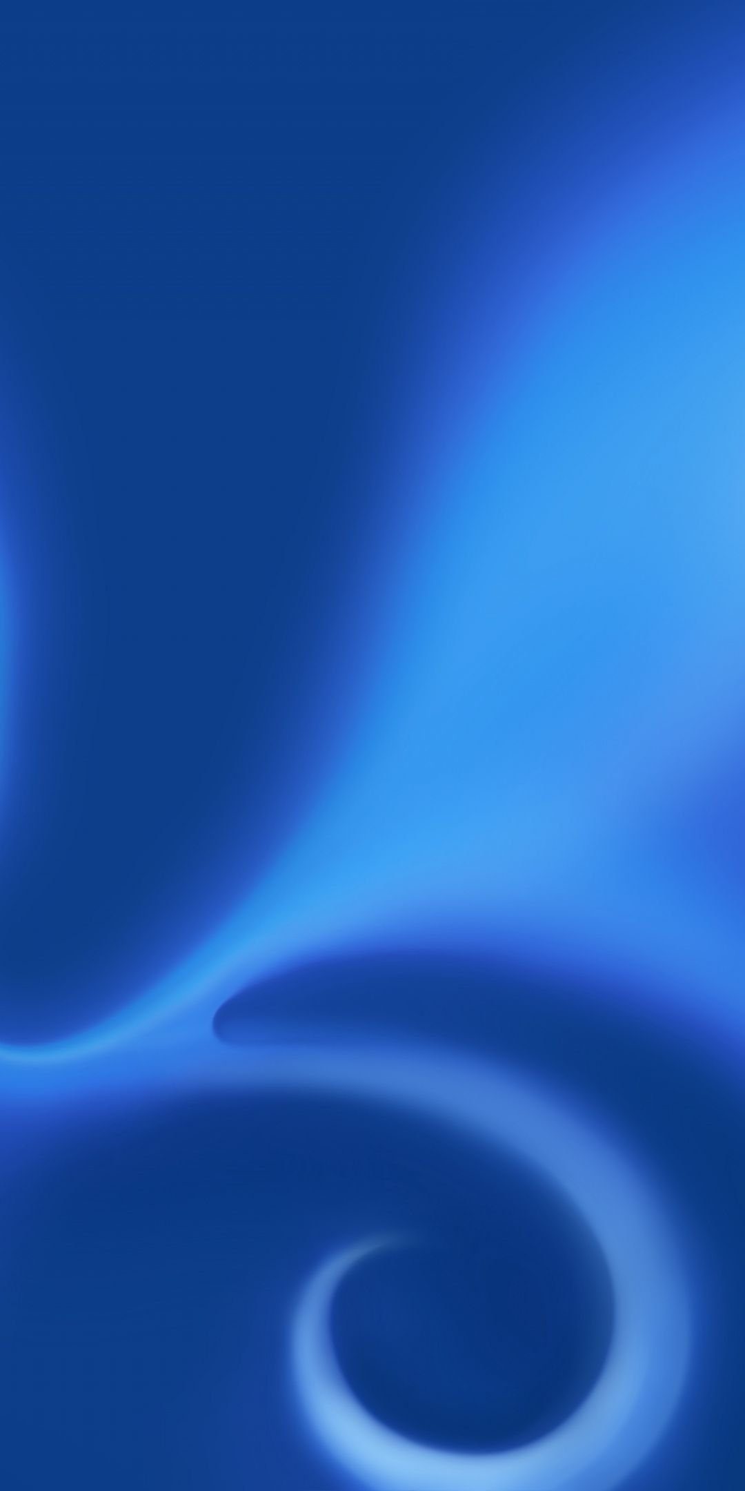 Waves Particle Blue Abstract 1080x2160 Wallpaper T