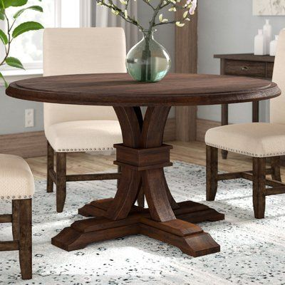 Lark Manor Becquets Extendable Dining Table Finish Rustic Java