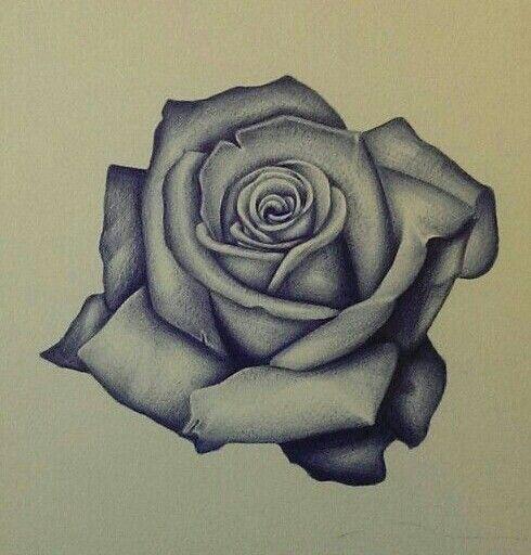thigh tattoo, black and grey tattoo or box mod ideas Pinterest - tatuajes de rosas