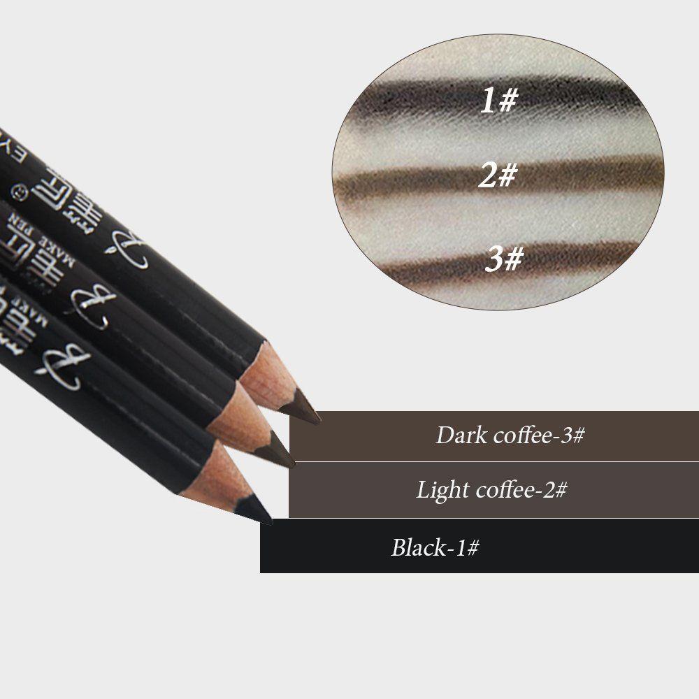 Tc Joy Waterproof Eyebrow Pencil With Pencil Sharpener And Brow