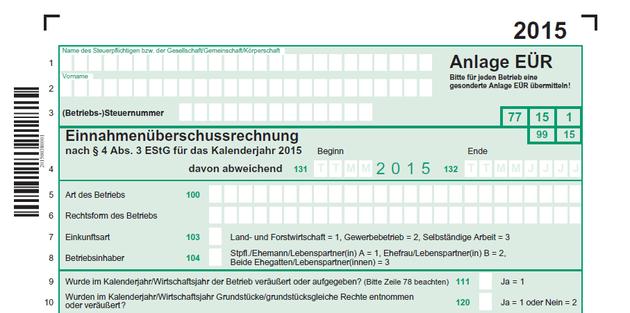 Anlage Eur 2015 Anlage Bucher Arbeit