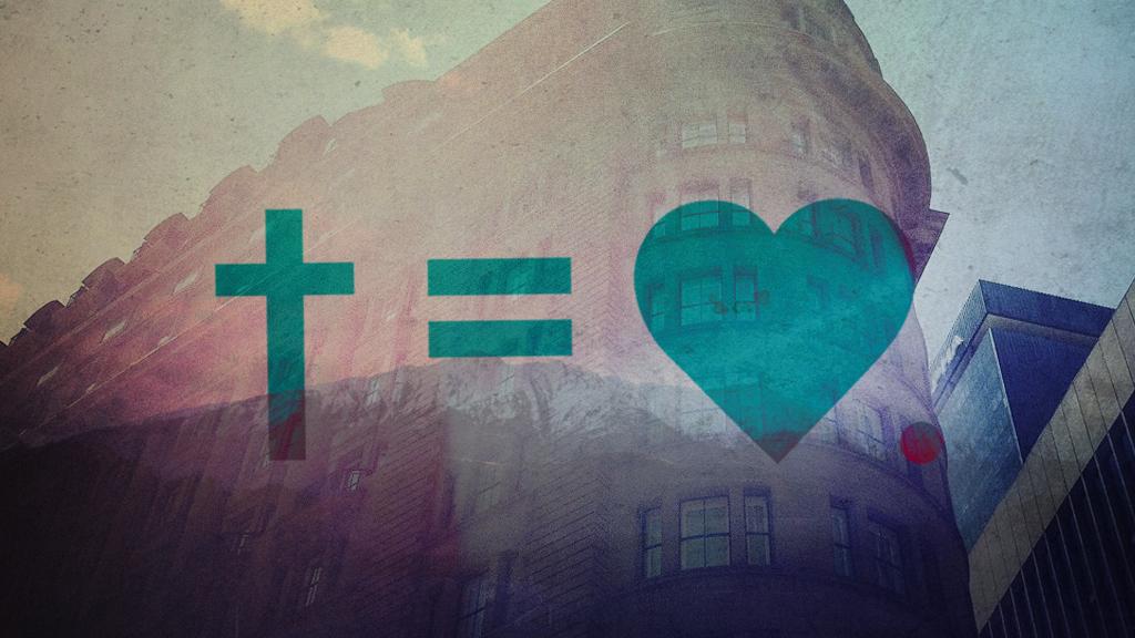 Cross = Heart | Cross Equals Heart | Cross equals love ...  Cross = Heart |...