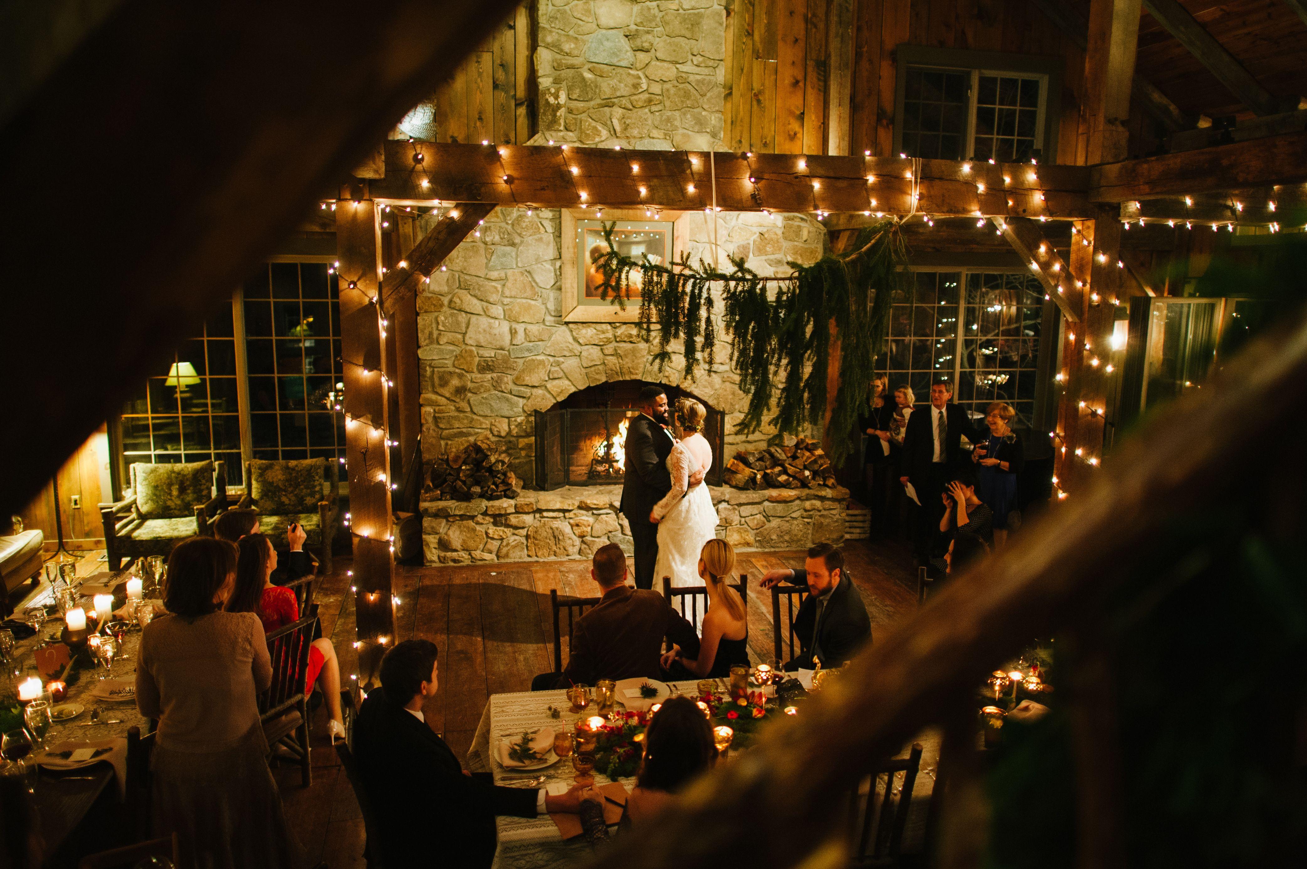 First dance inside the thorpewood lodge weddings pinterest