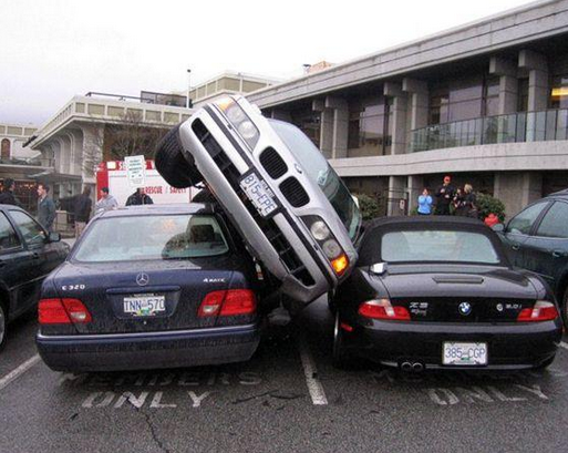 Talking About Tight Parking Funny Pictures Hilarious Jokes Meme Humor Walmart Fails Car Car Humor Funny Pictures