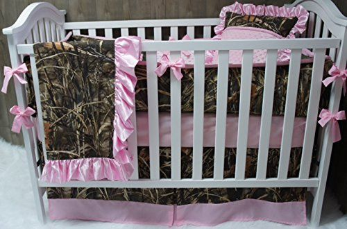 Custom Made Baby Crib Bedding Max 4hd Camo 5 Pink B
