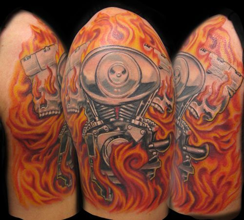 85 cool arrow tattoos on fingers negative flames tattoo by furious247 ...
