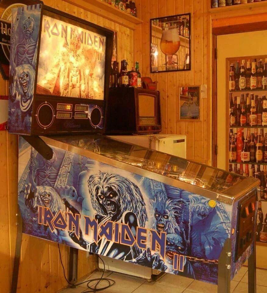 Irons pinball machine