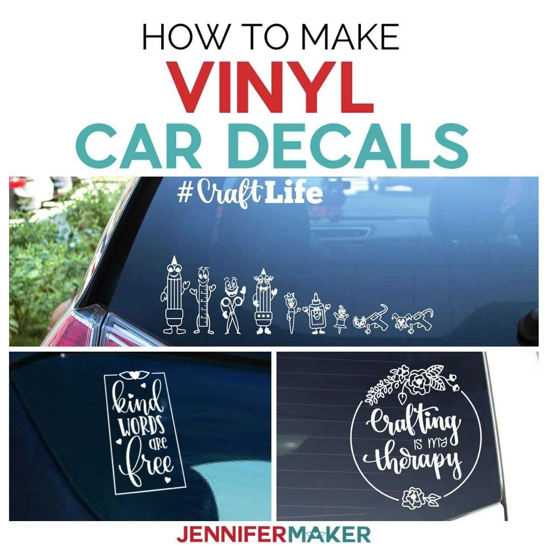 Nfl Project Diy How To Make A Car Decal Using Adhesive Vinyl Cricut Projects Vinyl Car Decals Vinyl Car Decals