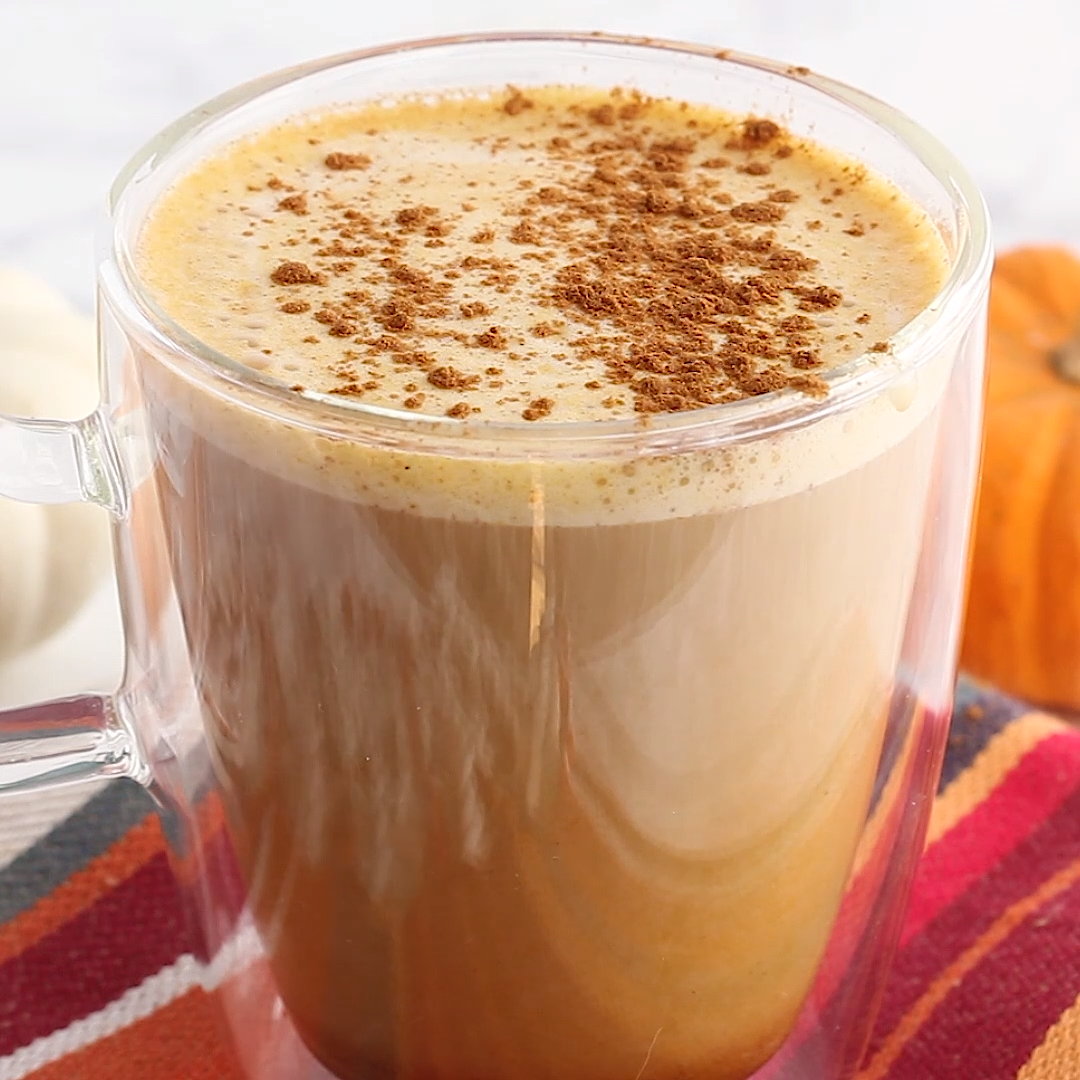 Healthy Homemade Pumpkin Spice Latte #pumpkinspiceketocoffee