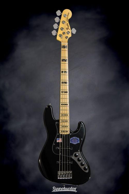 Fender American Ultra Jazz Bass V Mocha Burst With Rosewood Fingerboard Fender American Fender American Deluxe Fender Jazz Bass